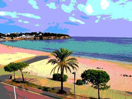 Clases de Castañuelas en Playa de Sant Pol Teresa Laiz