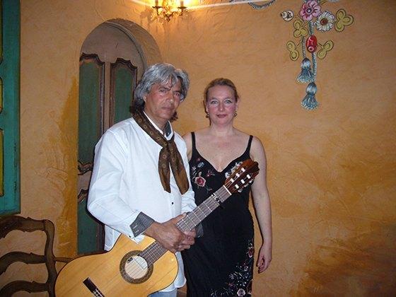 Concierto castañuelas y guitarra flamenca