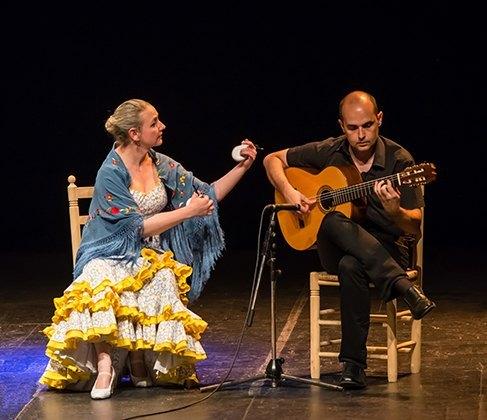 Concierto de Castañuelas y Guitarra Teresa Laiz & David Leiva