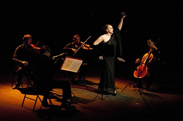 Quartet Sónor & Teresa Laiz - Concierto de Castañuelas