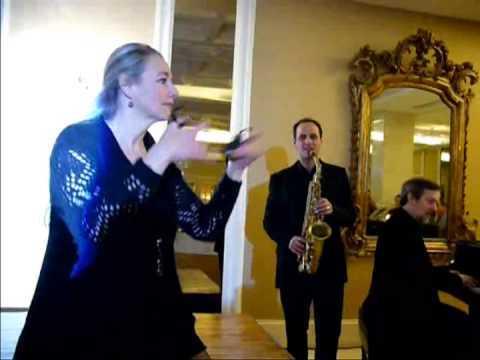 Concierto de jazz, Teresa Laiz (castañuelas)