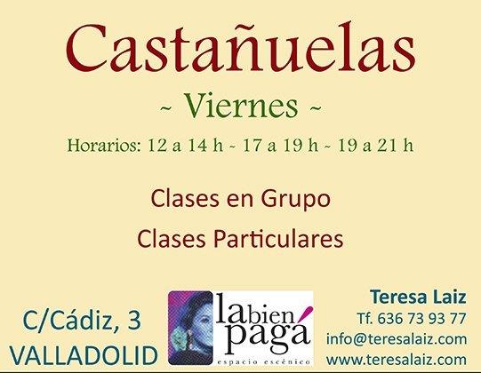 Curso de Castañuelas en Valladolid por Teresa Laiz