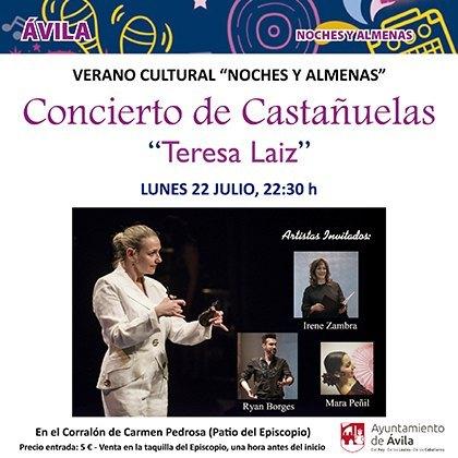 Concierto de Castanuelas Teresa Laiz castanets
