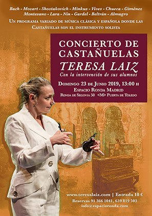 Concierto Castañuelas Madrid