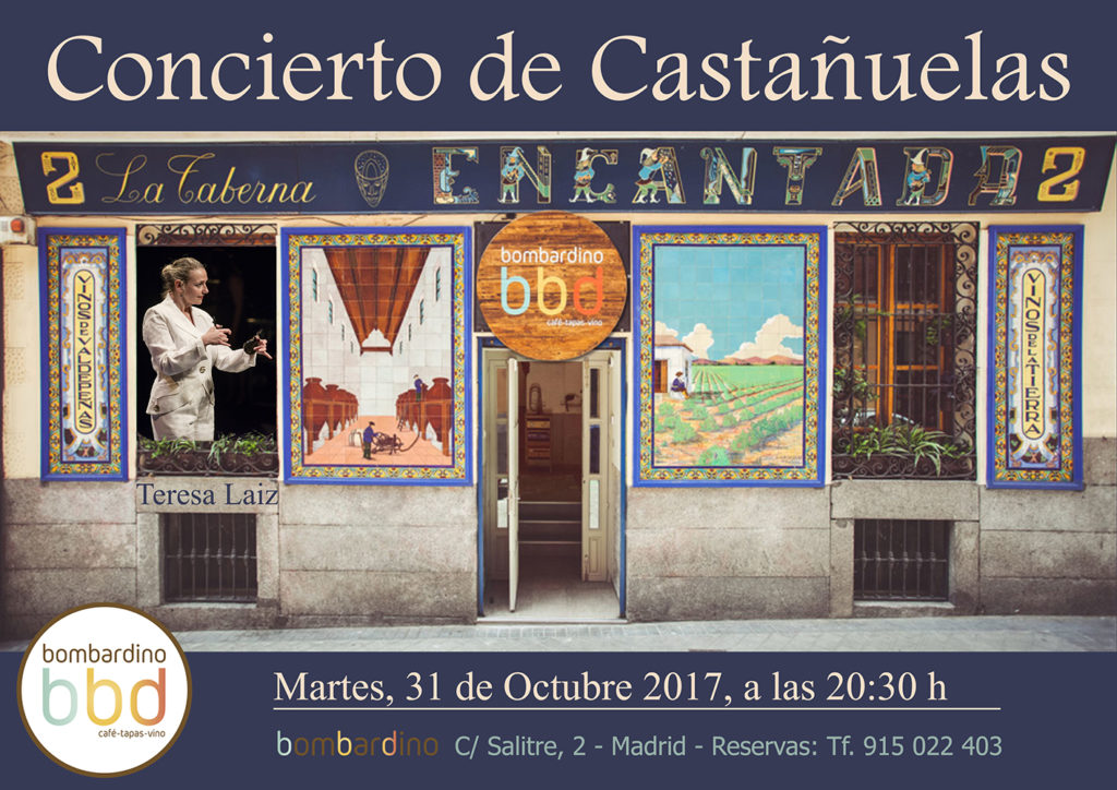 Cartel Concierto de Castañuelas