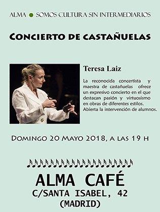 Concierto de Castañuelas Teresa Laiz