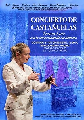 Concierto de Castañuelas Teresa Laiz y alumnos en Madrid