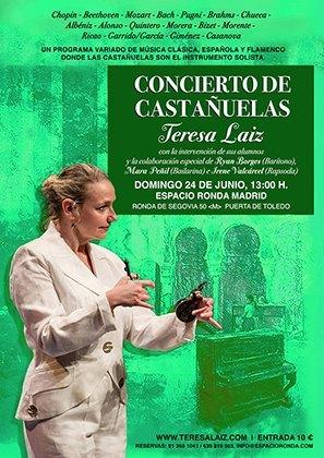 Cartel concierto escuela Teresa Laiz