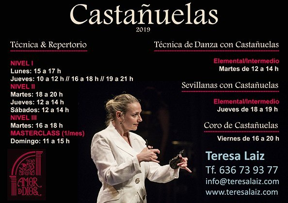 Clases de Castañuelas Profesora Teresa Laiz
