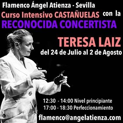 Castañuelas Teresa Laiz Sevilla